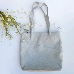 Hammitt   Drew Linen White Tote Shoulder Bag NEW